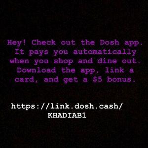Check out Dosh !!